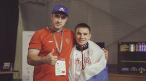 мус с тренером Пыльским